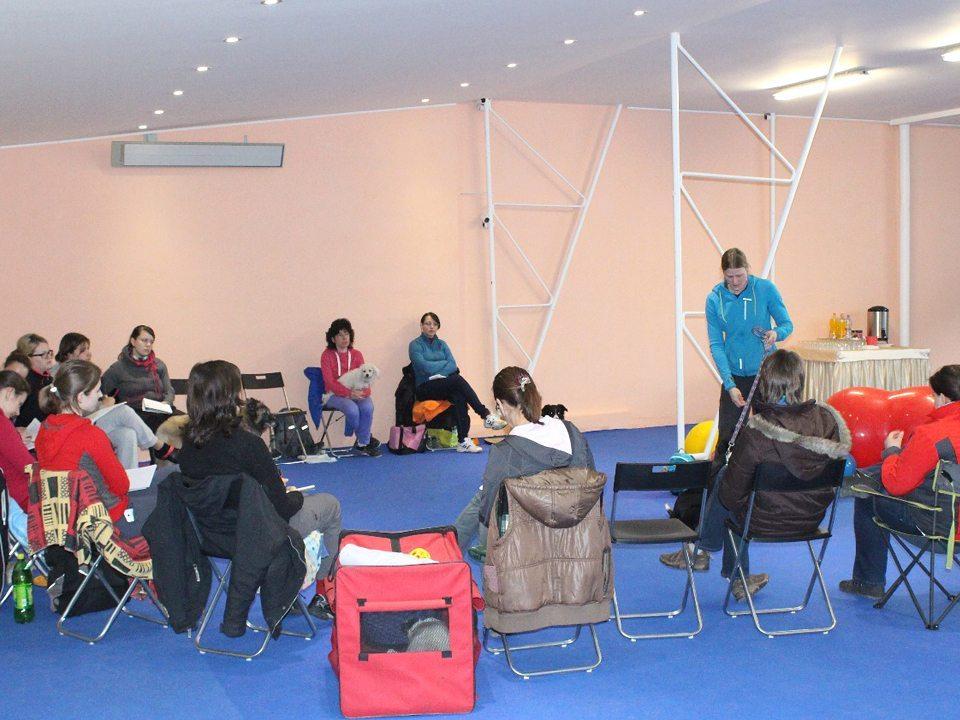 Kynologická hala VIP-Pets_kurzy, semináře